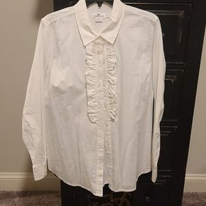 Vineyard Vines white button down size 14